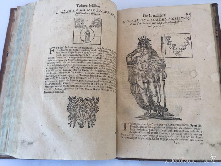 Libros antiguos: TESORO MILITAR DE CAVALLERIA. ANTIGUO Y MODERNO MODO DE ARMAR. DIEGO DIAZ DE LA CARRERA. AÑO 1642. - Foto 107 - 58105590