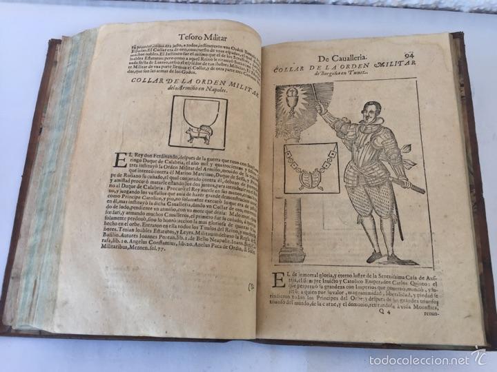 Libros antiguos: TESORO MILITAR DE CAVALLERIA. ANTIGUO Y MODERNO MODO DE ARMAR. DIEGO DIAZ DE LA CARRERA. AÑO 1642. - Foto 110 - 58105590
