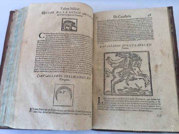 Libros antiguos: TESORO MILITAR DE CAVALLERIA. ANTIGUO Y MODERNO MODO DE ARMAR. DIEGO DIAZ DE LA CARRERA. AÑO 1642. - Foto 111 - 58105590