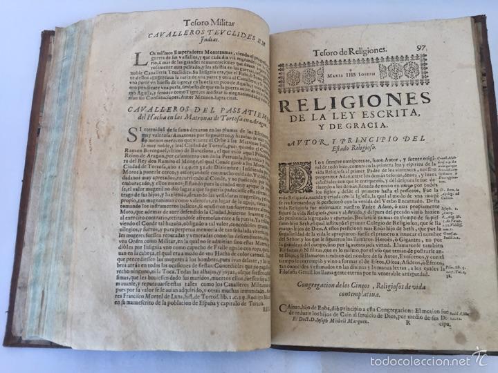Libros antiguos: TESORO MILITAR DE CAVALLERIA. ANTIGUO Y MODERNO MODO DE ARMAR. DIEGO DIAZ DE LA CARRERA. AÑO 1642. - Foto 112 - 58105590
