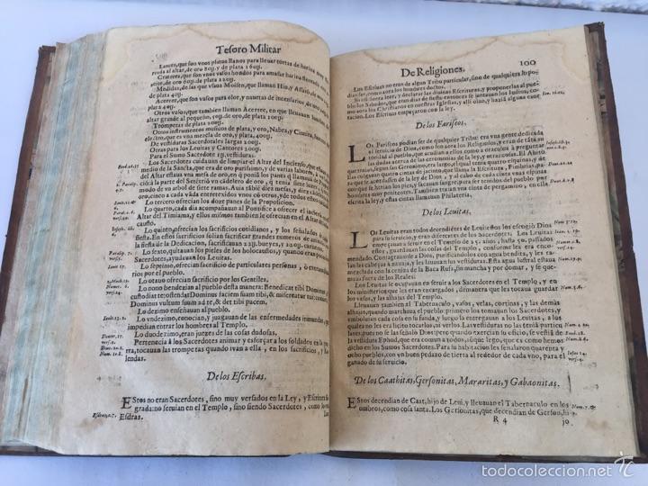 Libros antiguos: TESORO MILITAR DE CAVALLERIA. ANTIGUO Y MODERNO MODO DE ARMAR. DIEGO DIAZ DE LA CARRERA. AÑO 1642. - Foto 113 - 58105590