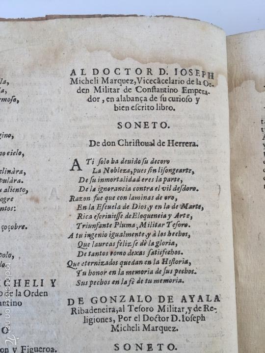 Libros antiguos: TESORO MILITAR DE CAVALLERIA. ANTIGUO Y MODERNO MODO DE ARMAR. DIEGO DIAZ DE LA CARRERA. AÑO 1642. - Foto 53 - 58105590