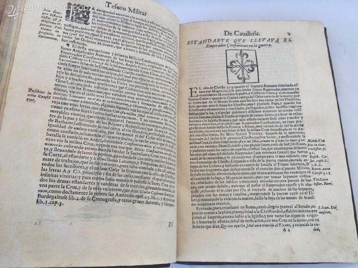 Libros antiguos: TESORO MILITAR DE CAVALLERIA. ANTIGUO Y MODERNO MODO DE ARMAR. DIEGO DIAZ DE LA CARRERA. AÑO 1642. - Foto 64 - 58105590