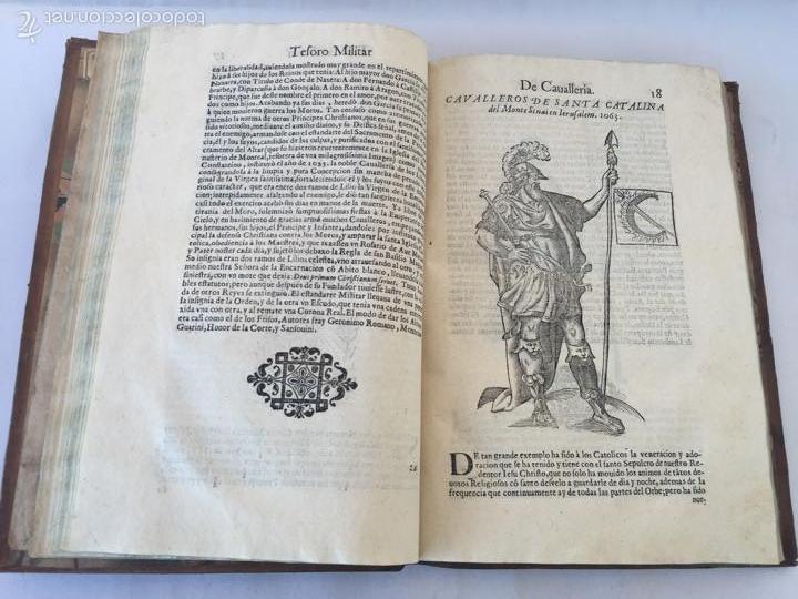 Libros antiguos: TESORO MILITAR DE CAVALLERIA. ANTIGUO Y MODERNO MODO DE ARMAR. DIEGO DIAZ DE LA CARRERA. AÑO 1642. - Foto 67 - 58105590