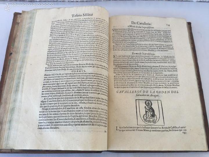 Libros antiguos: TESORO MILITAR DE CAVALLERIA. ANTIGUO Y MODERNO MODO DE ARMAR. DIEGO DIAZ DE LA CARRERA. AÑO 1642. - Foto 70 - 58105590