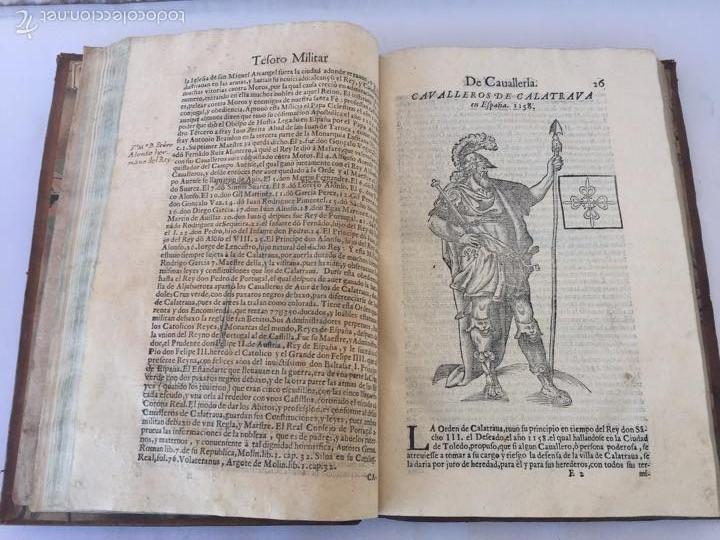 Libros antiguos: TESORO MILITAR DE CAVALLERIA. ANTIGUO Y MODERNO MODO DE ARMAR. DIEGO DIAZ DE LA CARRERA. AÑO 1642. - Foto 72 - 58105590