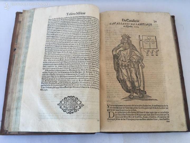 Libros antiguos: TESORO MILITAR DE CAVALLERIA. ANTIGUO Y MODERNO MODO DE ARMAR. DIEGO DIAZ DE LA CARRERA. AÑO 1642. - Foto 74 - 58105590