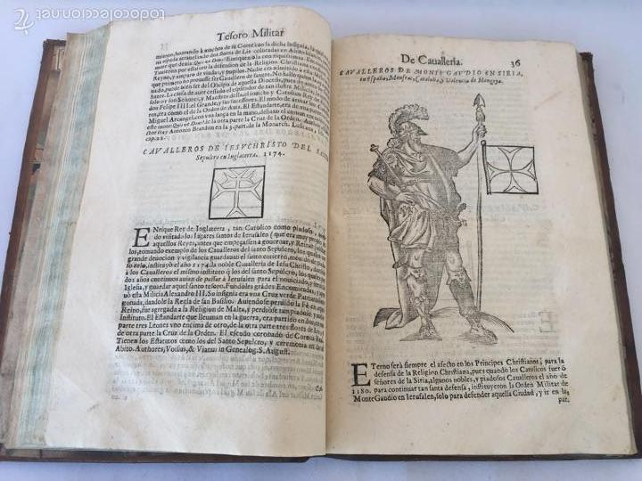 Libros antiguos: TESORO MILITAR DE CAVALLERIA. ANTIGUO Y MODERNO MODO DE ARMAR. DIEGO DIAZ DE LA CARRERA. AÑO 1642. - Foto 75 - 58105590