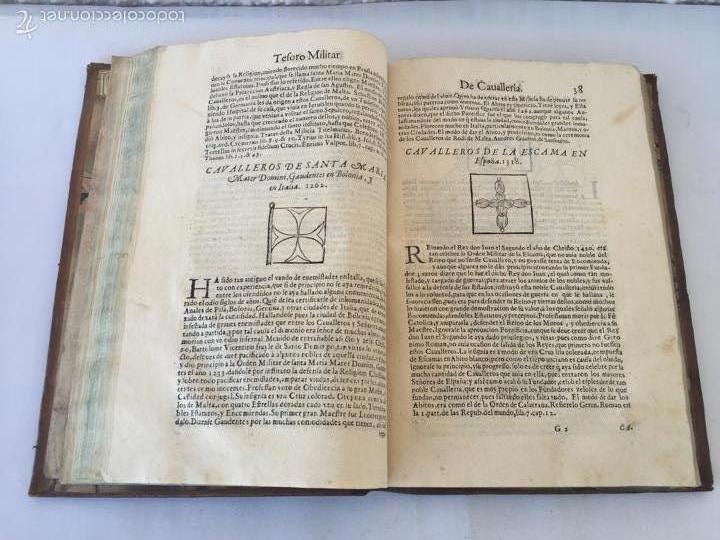 Libros antiguos: TESORO MILITAR DE CAVALLERIA. ANTIGUO Y MODERNO MODO DE ARMAR. DIEGO DIAZ DE LA CARRERA. AÑO 1642. - Foto 76 - 58105590
