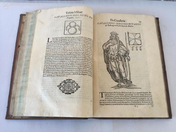 Libros antiguos: TESORO MILITAR DE CAVALLERIA. ANTIGUO Y MODERNO MODO DE ARMAR. DIEGO DIAZ DE LA CARRERA. AÑO 1642. - Foto 77 - 58105590
