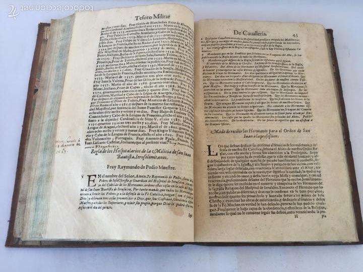 Libros antiguos: TESORO MILITAR DE CAVALLERIA. ANTIGUO Y MODERNO MODO DE ARMAR. DIEGO DIAZ DE LA CARRERA. AÑO 1642. - Foto 78 - 58105590