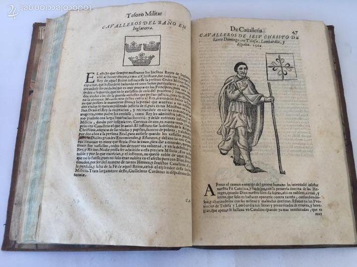 Libros antiguos: TESORO MILITAR DE CAVALLERIA. ANTIGUO Y MODERNO MODO DE ARMAR. DIEGO DIAZ DE LA CARRERA. AÑO 1642. - Foto 82 - 58105590