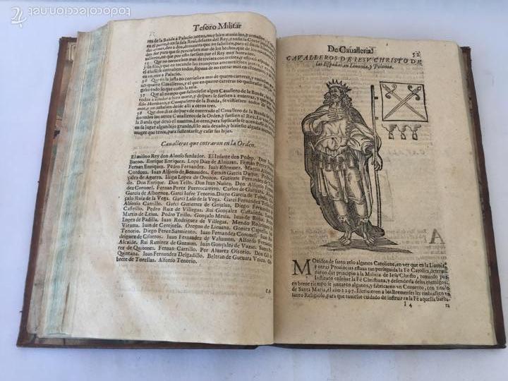 Libros antiguos: TESORO MILITAR DE CAVALLERIA. ANTIGUO Y MODERNO MODO DE ARMAR. DIEGO DIAZ DE LA CARRERA. AÑO 1642. - Foto 85 - 58105590