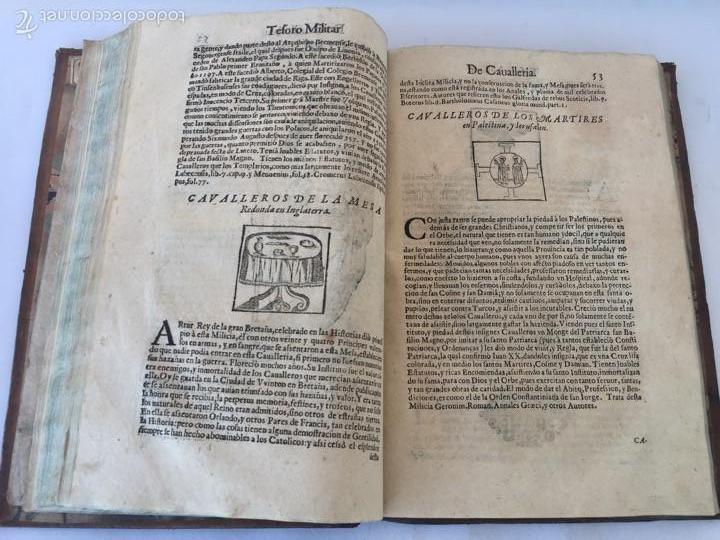Libros antiguos: TESORO MILITAR DE CAVALLERIA. ANTIGUO Y MODERNO MODO DE ARMAR. DIEGO DIAZ DE LA CARRERA. AÑO 1642. - Foto 86 - 58105590