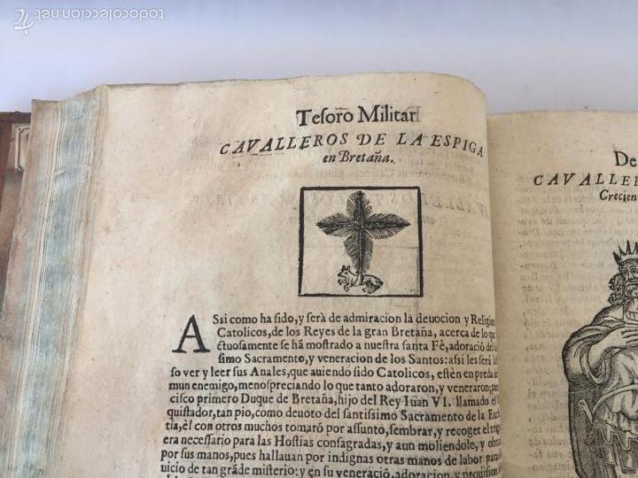 Libros antiguos: TESORO MILITAR DE CAVALLERIA. ANTIGUO Y MODERNO MODO DE ARMAR. DIEGO DIAZ DE LA CARRERA. AÑO 1642. - Foto 88 - 58105590