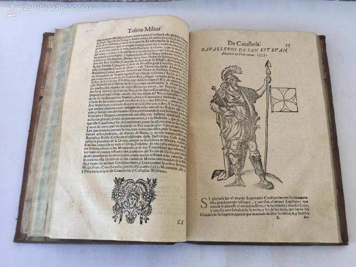Libros antiguos: TESORO MILITAR DE CAVALLERIA. ANTIGUO Y MODERNO MODO DE ARMAR. DIEGO DIAZ DE LA CARRERA. AÑO 1642. - Foto 89 - 58105590