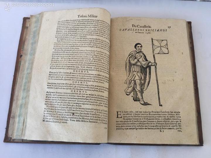 Libros antiguos: TESORO MILITAR DE CAVALLERIA. ANTIGUO Y MODERNO MODO DE ARMAR. DIEGO DIAZ DE LA CARRERA. AÑO 1642. - Foto 90 - 58105590