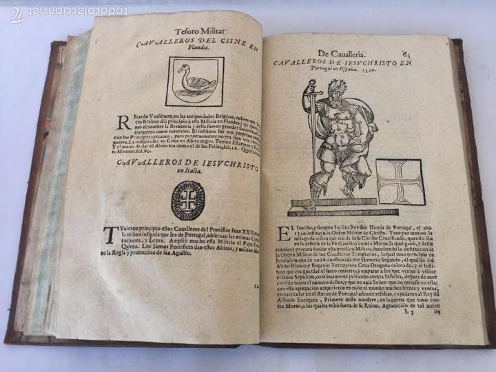 Libros antiguos: TESORO MILITAR DE CAVALLERIA. ANTIGUO Y MODERNO MODO DE ARMAR. DIEGO DIAZ DE LA CARRERA. AÑO 1642. - Foto 94 - 58105590