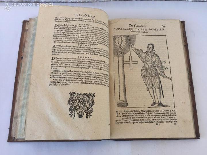 Libros antiguos: TESORO MILITAR DE CAVALLERIA. ANTIGUO Y MODERNO MODO DE ARMAR. DIEGO DIAZ DE LA CARRERA. AÑO 1642. - Foto 95 - 58105590