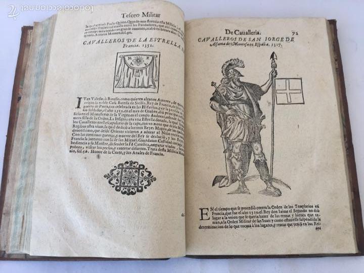 Libros antiguos: TESORO MILITAR DE CAVALLERIA. ANTIGUO Y MODERNO MODO DE ARMAR. DIEGO DIAZ DE LA CARRERA. AÑO 1642. - Foto 97 - 58105590