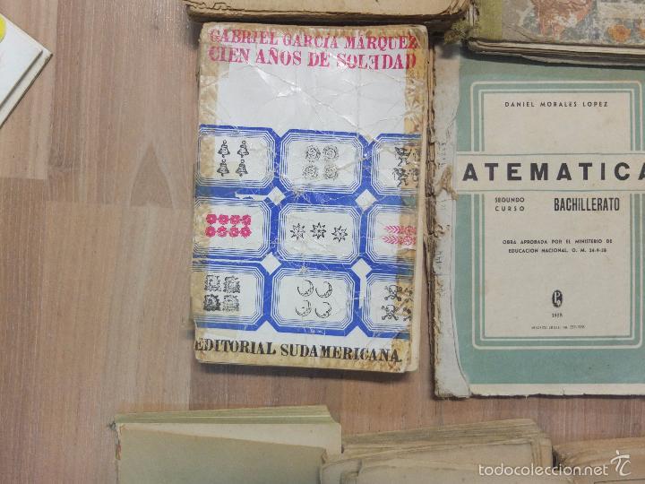 Libros antiguos: lote de unos 15 libros -diferentes estados - Foto 2 - 58138726