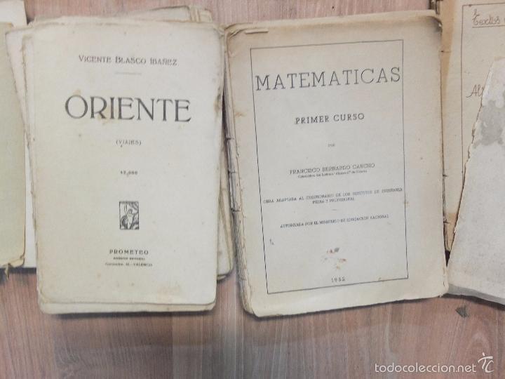 Libros antiguos: lote de unos 15 libros -diferentes estados - Foto 3 - 58138726