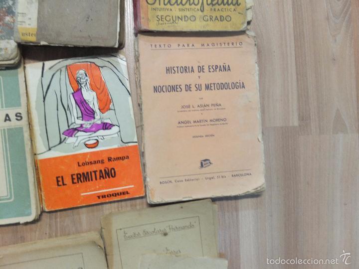 Libros antiguos: lote de unos 15 libros -diferentes estados - Foto 4 - 58138726
