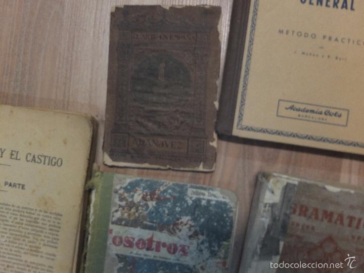 Libros antiguos: lote de unos 15 libros -diferentes estados - Foto 5 - 58138726