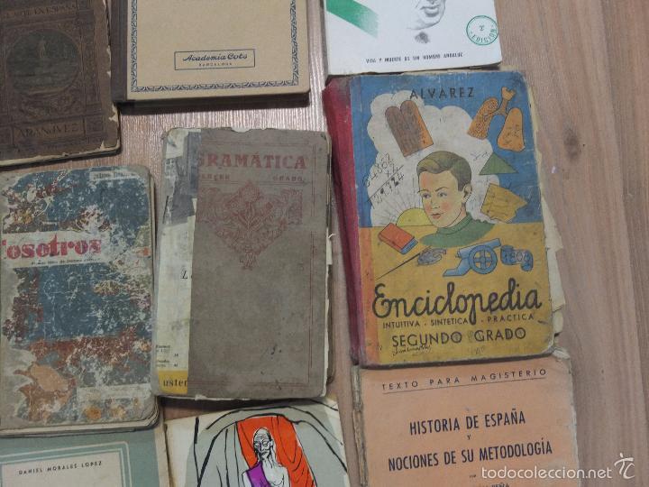 Libros antiguos: lote de unos 15 libros -diferentes estados - Foto 6 - 58138726