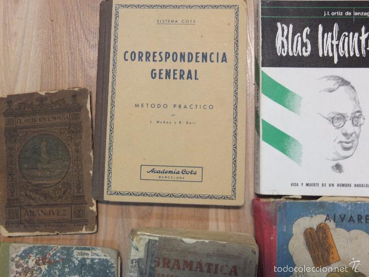 Libros antiguos: lote de unos 15 libros -diferentes estados - Foto 7 - 58138726