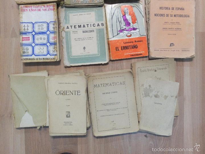 Libros antiguos: lote de unos 15 libros -diferentes estados - Foto 9 - 58138726