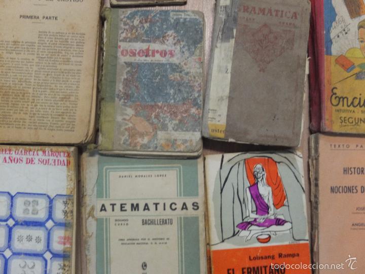 Libros antiguos: lote de unos 15 libros -diferentes estados - Foto 10 - 58138726