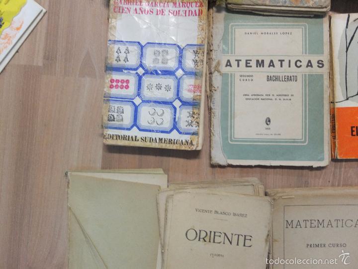 Libros antiguos: lote de unos 15 libros -diferentes estados - Foto 11 - 58138726