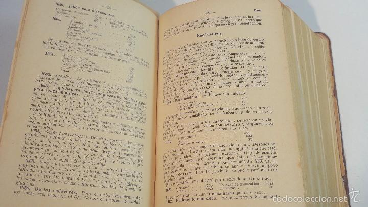 Libros antiguos: RECETARIO DOMESTICO-GHERSI-CASTOLDI-GUSTAVO GILI-1911 - Foto 6 - 58188954