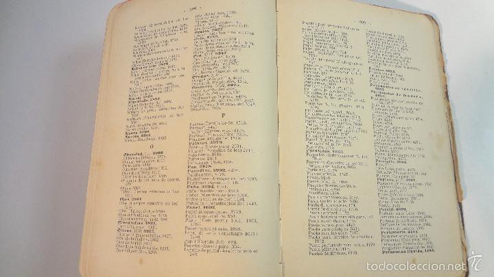 Libros antiguos: RECETARIO DOMESTICO-GHERSI-CASTOLDI-GUSTAVO GILI-1911 - Foto 18 - 58188954