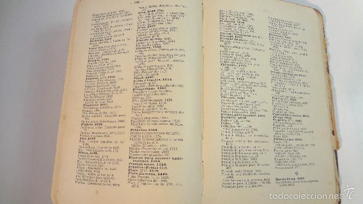 Libros antiguos: RECETARIO DOMESTICO-GHERSI-CASTOLDI-GUSTAVO GILI-1911 - Foto 19 - 58188954