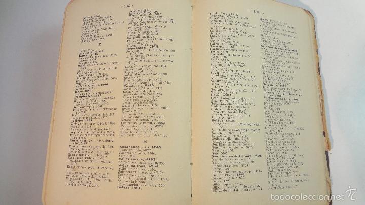 Libros antiguos: RECETARIO DOMESTICO-GHERSI-CASTOLDI-GUSTAVO GILI-1911 - Foto 20 - 58188954
