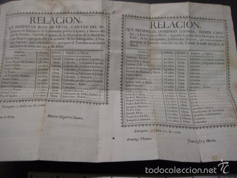 Libros antiguos: RELACION SUCESO CIUDAD DE ZARAGOZA 6 DE ABRIL DE 1766- IMPRENTA DEL REY AÑO 1766-VER FOTOS -(XL-49) - Foto 13 - 224217420
