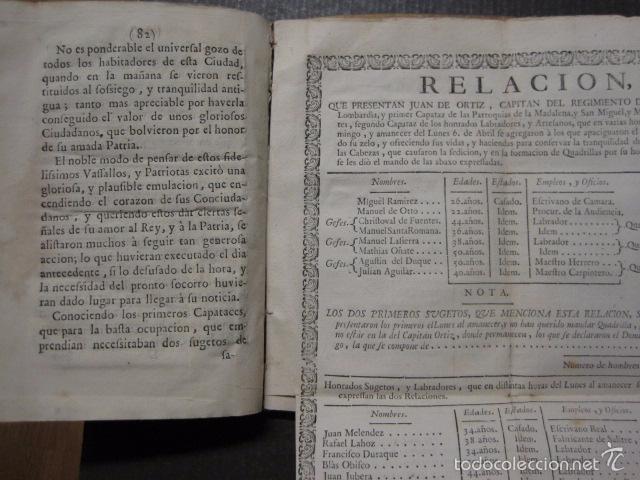Libros antiguos: RELACION SUCESO CIUDAD DE ZARAGOZA 6 DE ABRIL DE 1766- IMPRENTA DEL REY AÑO 1766-VER FOTOS -(XL-49) - Foto 14 - 224217420