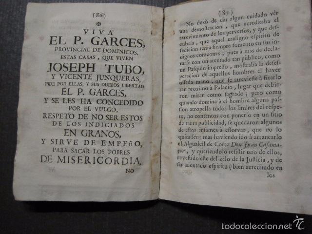 Libros antiguos: RELACION SUCESO CIUDAD DE ZARAGOZA 6 DE ABRIL DE 1766- IMPRENTA DEL REY AÑO 1766-VER FOTOS -(XL-49) - Foto 19 - 224217420