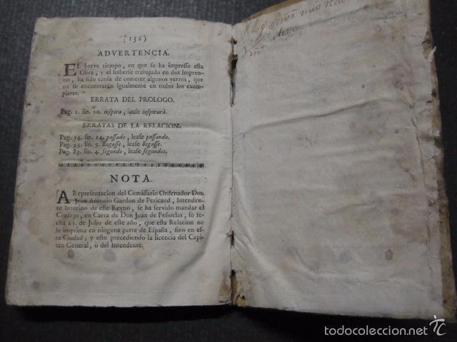 Libros antiguos: RELACION SUCESO CIUDAD DE ZARAGOZA 6 DE ABRIL DE 1766- IMPRENTA DEL REY AÑO 1766-VER FOTOS -(XL-49) - Foto 20 - 224217420