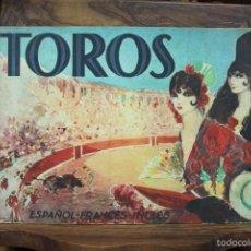 Libros antiguos: TOROS. VISIÓN GRÁFICA DE LA FIESTA NACIONAL ESPAÑOLA. 1932.. Lote 58198959