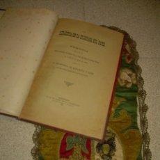 Libros antiguos: HERALDICA EN LA FILIGRANA DE PAPEL....LIBRO Y ESCUDO BORDADO.. Lote 58210864