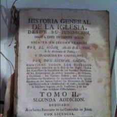 Libros antiguos: HISTORIA GENERAL DE LA IGLESIA, DESDE SU FUNDACIÓN HASTA ESTE PRESENTE SIGLO. Lote 58092960