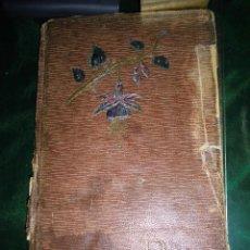 Libros antiguos: LIBRO ANTIGUO MANUSCRITO POESIA VARIAS FIRMAS 40 PAGINAS 1910. Lote 53292661