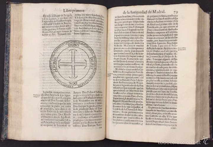 Libros antiguos: A LA MUY ANTIGUA, NOBLE Y CORONADA VILLA DE MADRID. GERONIMO DE QUINTANA. 1629 - Foto 2 - 58291407