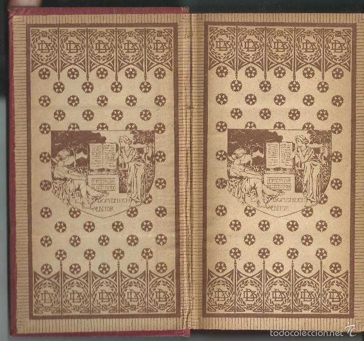 Libros antiguos: DICKENS:EL MARQUÉS DE SAINT EVREMONT TOMO I CASA EDITORIAL DOMENECH, ANTERIOR 1917.MODERNISTA - Foto 2 - 58339377