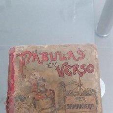 Alte Bücher - Libro fabulas en verso por Samaniego s. Calleja madrid - 58376467