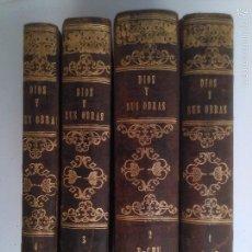 Libros antiguos: DICCIONARIO PINTORESCO DE HISTORIA NATURAL Y DE AGRICULTURA. A. YAÑEZ (4 TOMOS). Lote 58388480