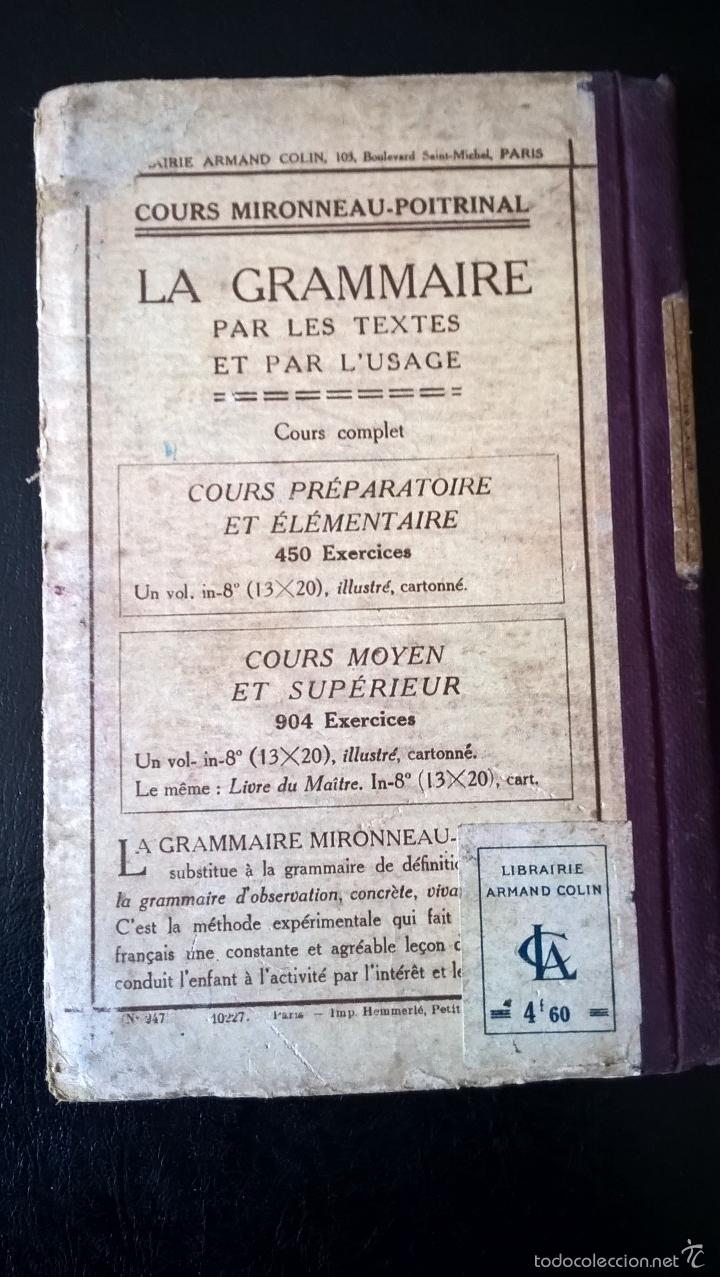 Libros antiguos: L´ ANNEE ENFANTINE DE LECTURE COURANTE. M. GUYAU. FRANCES. - Foto 4 - 58394769
